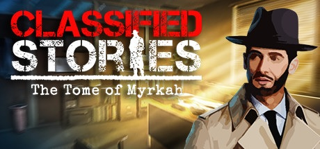 Classified Stories: The Tome of Myrkah Title Logo