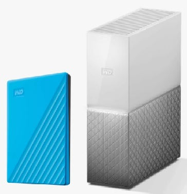 My Passport and My Cloud Home Storage from Western Digital