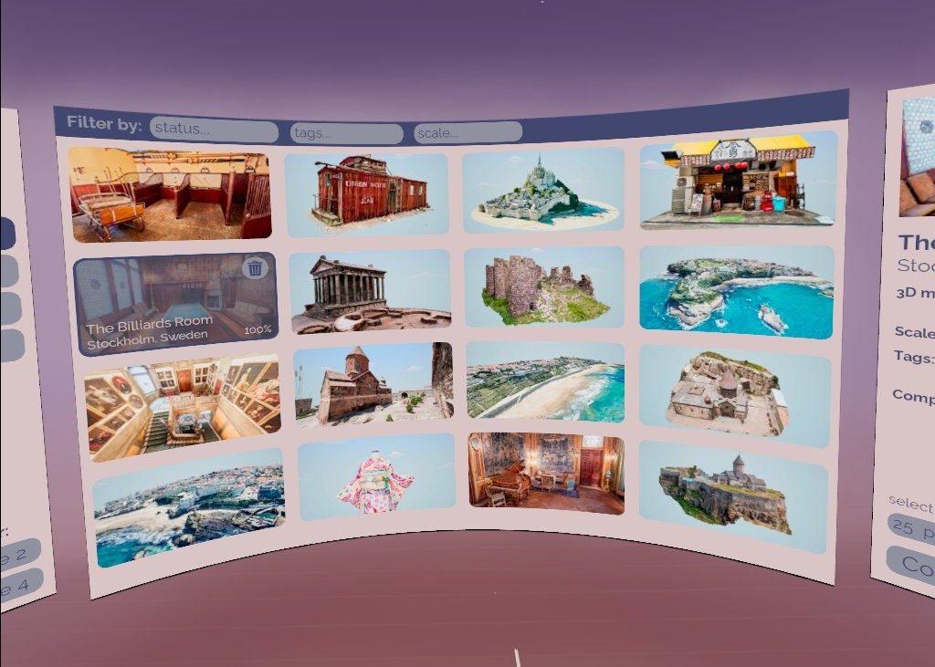 Puzzling Places Home Menu Screenshot