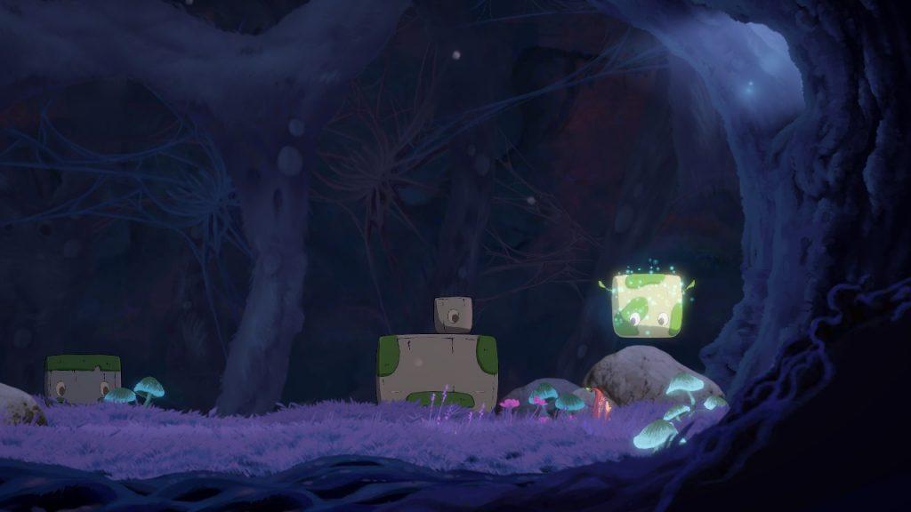 Hoa Screenshot with Floating Cave Rock