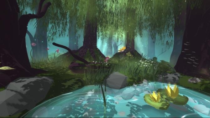 Quest 2 Game Open Brush Screenshot
