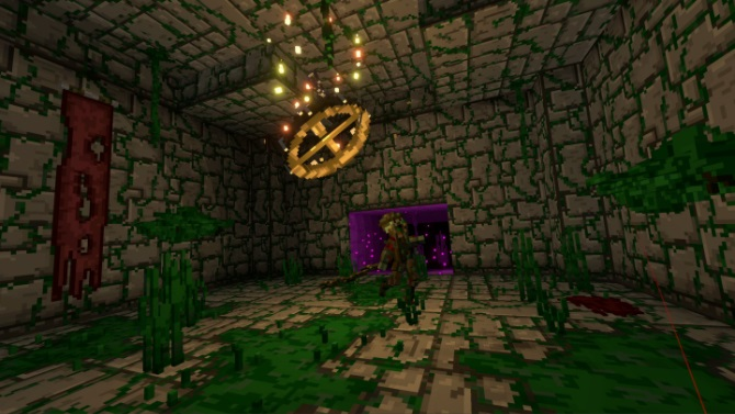 Quest 2 Game Ancient Dungeon Screenshot