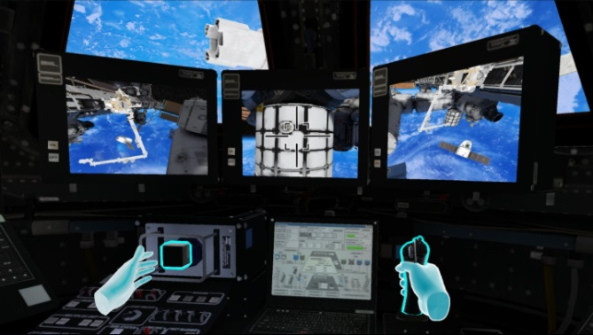 Quest 2 Game MISSION: ISS Screenshot