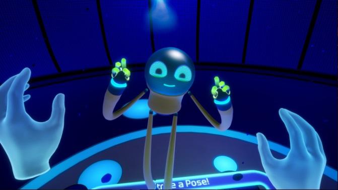 Quest 2 Game First Steps Screenshot