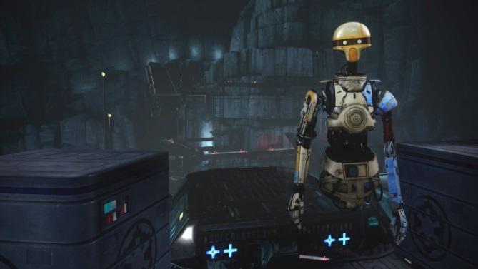 Quest 2 Game Vader Immortal Screenshot